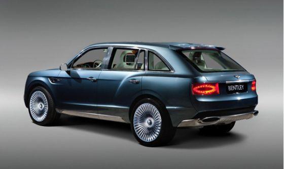 Das luxuriöse Bentley SUV kreuzt ab 2016 über die Straßen. (Foto: Bentley)