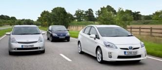 Seit seinem verhaltenen Serienstart in 1997 wurden inzwischen weltweit drei Millioinen Toyota Prius verkauft.
