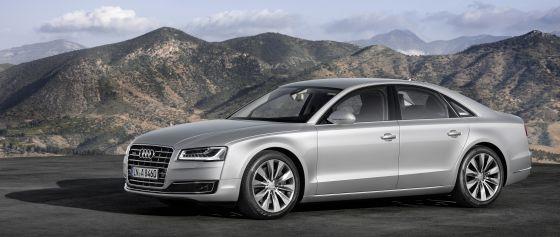 Audi hat effizientere Motoren für den A8 entwickelt, wie für den 4.0 TSFI mit Zylinderabschaltung. (Foto: Audi)