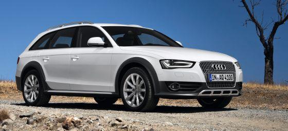 Audi-Modelle wie dieser ibisweiße A4 allroad quattro finden auch in den USA immer mehr zufriedene Kunden. (Foto: Audi)