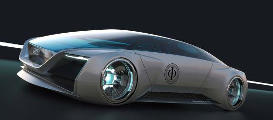 """Der Audi fleet shuttle quattro fährt im Hollywoodstreifen """"Ender's Game"""" virtuell in der Zukunft"""