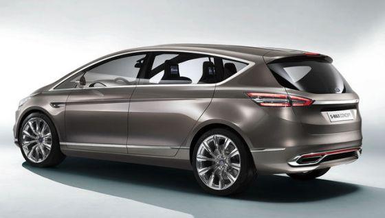 Der Ford-S-Max Concept kündigt die zweite Generation des sportlichen Van an. (Foto: Ford)