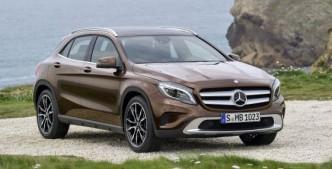 Mercedes startet 2014 mit dem GLA in das segment der kompakten SUV. (Foto: Mercedes)