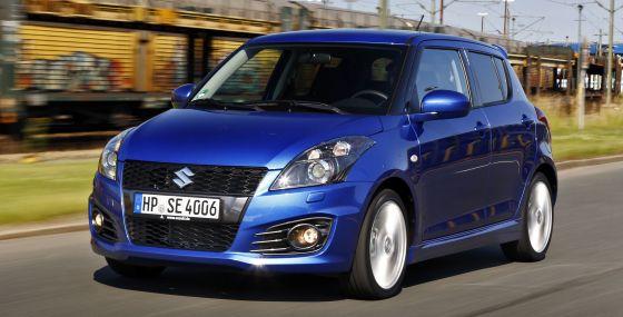 Den quirligen Suzuki Swift Sport gibt es nun auch als Fünftürer (Foto: Suzuki)