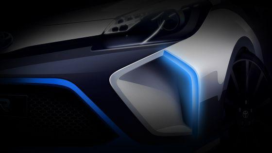 Der Toyota Hybrid R Concept wird am 10.September auf der IAA enthüllt (Foto: Toyota)