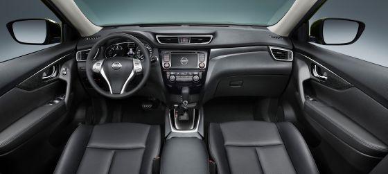Edlere Oberflächen und Internet-Anschluss bringen Zeitgeist ins vormals nüchterne X-Trail-Ambiente. (Foto: Nissan)