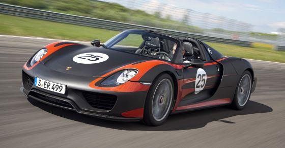 Porsche 918 Spyder - eine zukunftsträchtiger Traumwagen für Rennstrecke und Alltag. (Foto: Porsche)