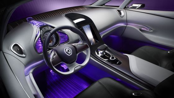 Der Innenraum des Renault-Concepts Initiale Paris soll an einen kleinen Privat-Jet denken lassen. (Foto: Renault)