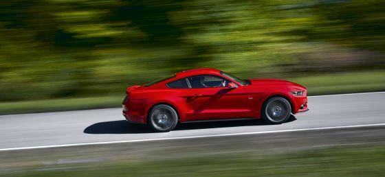 Der neue Mustang wird nun auch offiziell von Ford Deutschland angeboten. (Foto: Ford)