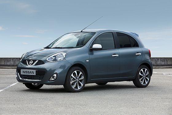 Der Nissan Micra kommt in der N-Tec Ausstattung mit der neuesten Version des Infotainment-Systems Nissan Connect - außen gibt es 16-Zoll-Leichtmetallfelgen, verdunkelte hinteren Seitenscheiben sowie silberne Türgriffe und Außenspiegelverkleidungen. (Foto: Nissan)