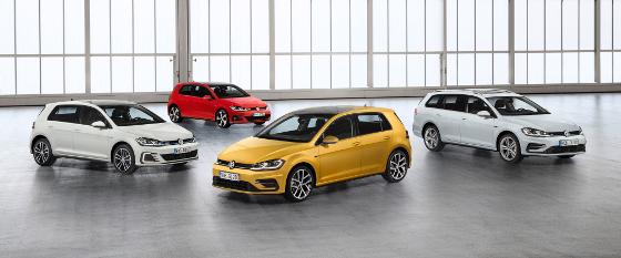 Volkswagen hat den Golf 7 für 2017 überarbeitet. Foto: VW
